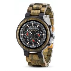Drevené hodinky Parker Casio Watch, Watches, Bird, Accessories, Wood Watch, Stainless Steel Bracelet, Wristwatches, Birds, Clocks