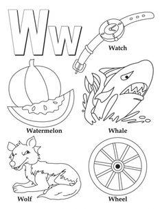 alphabet coloring pages - Alphabet Coloring Pages For Kindergarten