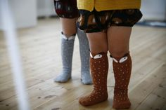 ebabee likes:Raccoon knee socks and more in the ebabee shop for AW15