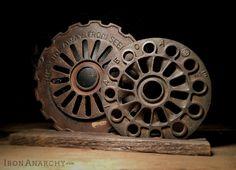 Antique Iron Gear Decor from IronAnarchy.com