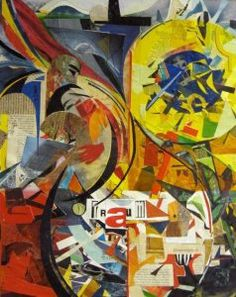 Elisabeth Rütsche - Galerie Picasso, Collage Kunst, Collagen, Painting, Painting Art, Paintings, Draw