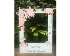 Bridal Shower giant photo booth frame prop  by Winterlandstudios