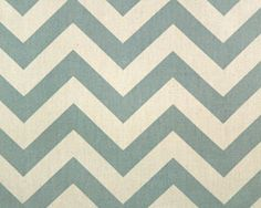 Zig Zag Village Blue/Natural by Premier Prints - Drapery Fabric - Fabric By The Yard