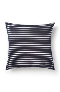 Reverse Stripe Jersey Cushion
