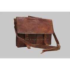 Leather Messenger Bag / CrossBody/ Laptop Bag/ Shoulder Bag