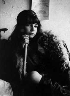 Young Kate Bush photographed by her brother John Carder Bush (1964)