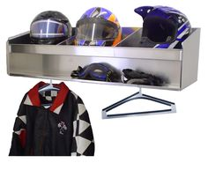 Trailer, Garage, Or Shop Helmet Bay (Choose One, Two, Three,