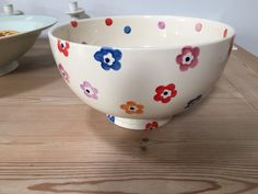 Bright Flowers Large Mixing Bowl 2005 (Discontinued)
