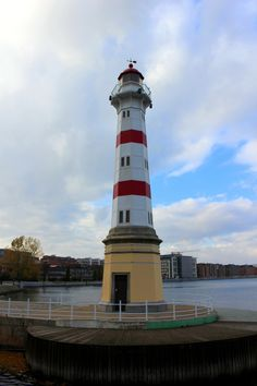 Lighthouse in Malmö, Sweden- by maj-lis