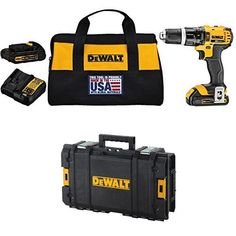 [$149.99] Amazon #DealOfTheDay: Save 39% on DEWALT Made in the USA drill bundle #LavaHot http://www.lavahotdeals.com/us/cheap/amazon-dealoftheday-save-39-dewalt-usa-drill-bundle/174858?utm_source=pinterest&utm_medium=rss&utm_campaign=at_lavahotdealsus