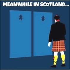 Scots and our kilts
