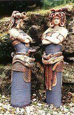 Two aztecs by Geoff Cox