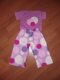 Super cute custom made pjs for a toddler