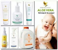 Natural baby products, can be used by all the family
