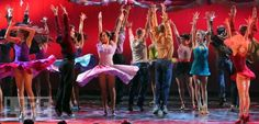 The Cast of 'West Side Story' in Action  Actress Karen Olivo, who plays Anita in the revival, was a winner for Best Featured Actress in a Musical.  2009