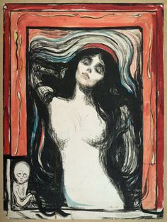'Madonna' (1895-1902) by Edvard Munch