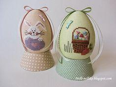 Как ни странно, но я раньше никогда не делала рукодельные пасхальные яйца. Но в этом году решила исправить эту ситуацию. Так они в...