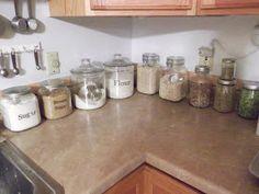 Thrifty 31 Blog: Kitchen Organization