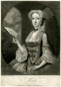 """""""May"""" - Print by Thomas Burford (1745)"""