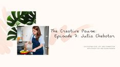 The Creative Pause is a video series hosted by Stacey Fay and Susan Padron. In a time of solitude and fear, we are cultivating joy, love and connection. Wine Tasting, Cooking, Creative, Youtube, Cuisine, Kitchen, Youtubers, Brewing, Kochen