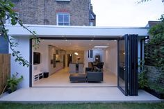 Best Exterior Doors With Glass Rear Extension Ideas House Extension Plans, House Extension Design, Roof Extension, House Design, Extension Ideas, Extension Google, Bungalow Extensions, House Extensions, Kitchen Extensions