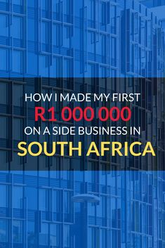 This is an overview of how my side business made it's first 000 000 and what was required to achieve this. My Side, One In A Million, Better Life, Business Marketing, South Africa, Encouragement, Engineering, Tech Companies, Technology