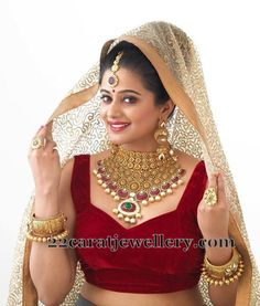 Jewellery Designs: Priyamani Bridal Jewelry Collection