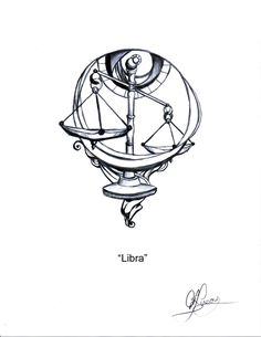 What's the meaning behind Libra tattoos? Get your inspiration from these 55 unique Libra tattoo ideas. Libra Scale Tattoo, Libra Zodiac Tattoos, Libra Tattoo, Symbol Tattoos, Body Art Tattoos, New Tattoos, Tattoo Drawings, Sleeve Tattoos, Signo Libra