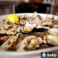 Oysters at Zuni Cafe in San Francisco