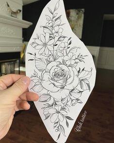 Floral Back Tattoos, Mandala Flower Tattoos, Tattoos For Women Flowers, Dot Tattoos, Floral Tattoo Design, Mandala Tattoo Design, Girly Tattoos, Cover Up Tattoos, Flower Tattoo Designs