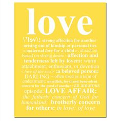 LOVE DEFINITION  8 x 10 Print with Typed Definition of by Tessyla, $20.00