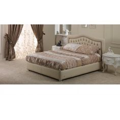 Letto in pelle soft con bottoni originali Swarovski http://www.lineahouse.it/product.php?id_product=91
