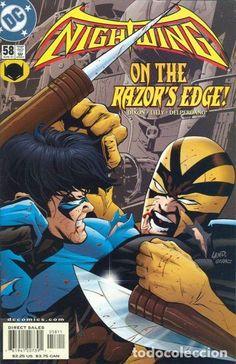NIGHTWING #58, DC COMICS, 2.001, USA
