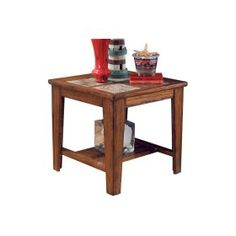 In By Ashley Furniture In Plymouth, WI   Square End Table.