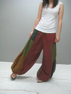 Aladdin PatchWork Pants