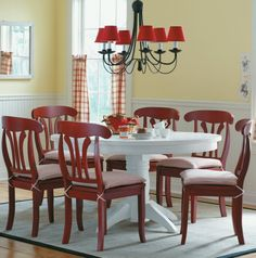 Dining set designed by me in 2004 for JCPenny's