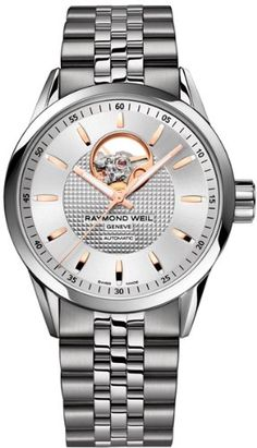 Men's Wrist Watches - Raymond Weil Freelancer Skeletal Dial Automatic Male Watch 2710ST565021 ** You can find more details by visiting the image link. (This is an Amazon affiliate link)