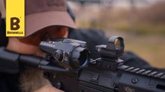 Kyle Lamb of Viking Tactical shooting an AR with the DeltaPoint Pro