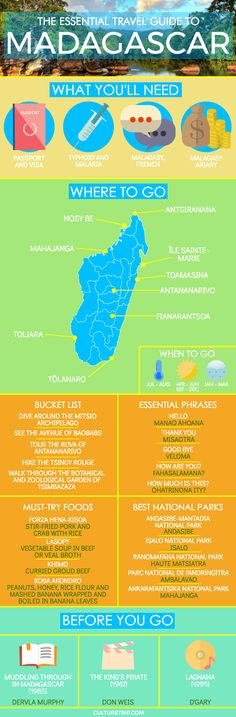 The Essential Travel Guide to Madagascar (Infographic)