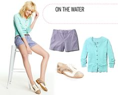 Spring Style on the water. Nautical + Preppy.