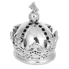 Silver crown lamp - Decorative lights - Lighting - Home & furniture - Crown Decor, British Garden, Great British, Time To Celebrate, Debenhams, Light Decorations, Alice In Wonderland, Snow Globes, Home Furniture