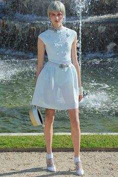 Chanel Resort 2013 Fashion Show - Bette Franke