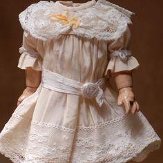 Small Cream Silk Dress