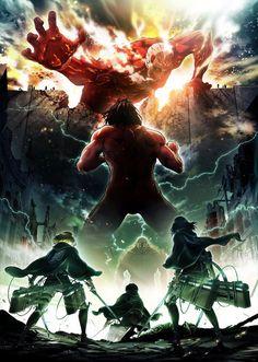 Дождались! Второй сезон аниме «Вторжение титанов»