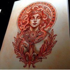 #medusa #tattoo #sketch