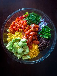 If you're familiar with our cowboy caviar or cowboy pasta salad, you should be pretty excited to see this cowboy salad. Similar to the pasta variety (just without the noodles) this is a hearty salad Cowboy Salad Recipe Gourmet Recipes, Dinner Recipes, Cooking Recipes, Healthy Recipes, Cowboy Salad, Clean Eating Snacks, Healthy Eating, Healthy Salads, Summer Salads