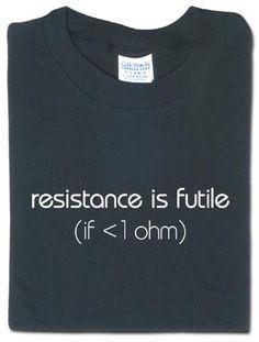 ThinkGeek :: resistance is futile