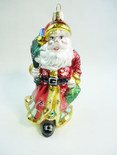 Waterford Father Christmas Ornament  Waterford by GranvilleGallery