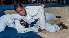 The female judo champions in India are not letting their visual impairments limit them.