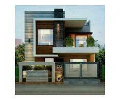Modern home design Best Modern House Design, Modern Exterior House Designs, Simple House Design, Modern Tiny House, House Front Design, Minimalist House Design, Tiny House Design, Cool House Designs, Modern House Plans